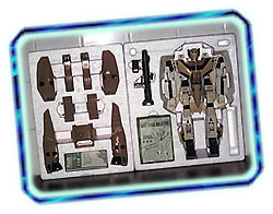 Original packing of the VF-1S StrikeValkyrie